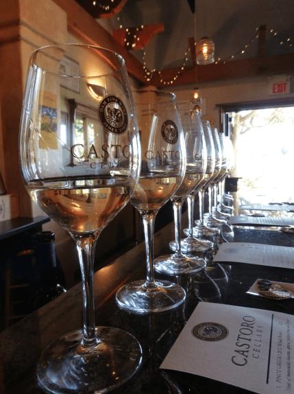 Castoro wine glasss