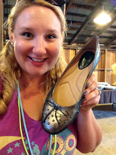 Loving my new Earth Brand Bellflower Flat!