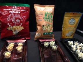 PopGourmet's offerings include Sriracha, Garlic, Kale, and many more!
