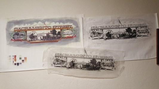 Tony's artwork for the exhibit
