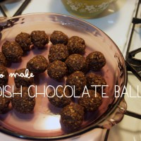 How to Make Swedish Chocolate Balls