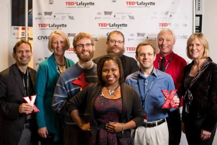 TEDxLafayette 2014 | www.tedxlafayette.com SPARK. INSPIRE. CHANGE Photos by ISPhotographic