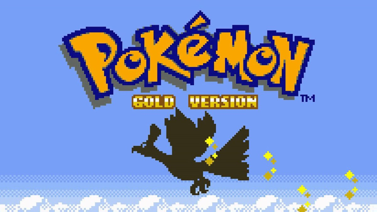 Pokemon Gold Title Screen