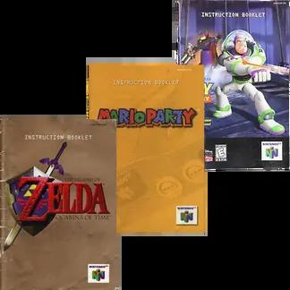 Nintendo 64 Manuals