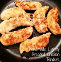 Lightly Breaded Chicken Tenders - Double Knotted Apron