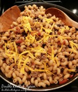 Turkey Taco Pasta - Double Knotted Apron