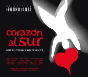 Pochette CD Corazon al sur - Poésie et musique latino-américaine