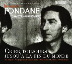 Benjamin_Fondane__Crier_toujours