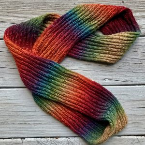Infinity Scarf Muted Rainbow IS0010 01
