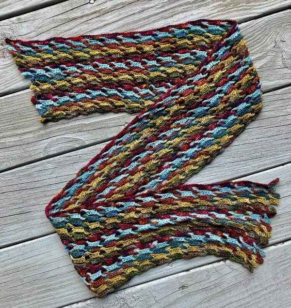 Interlocking Crochet Scarf ICS0170 01
