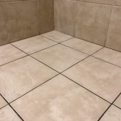 new tile grout inconsistent in color