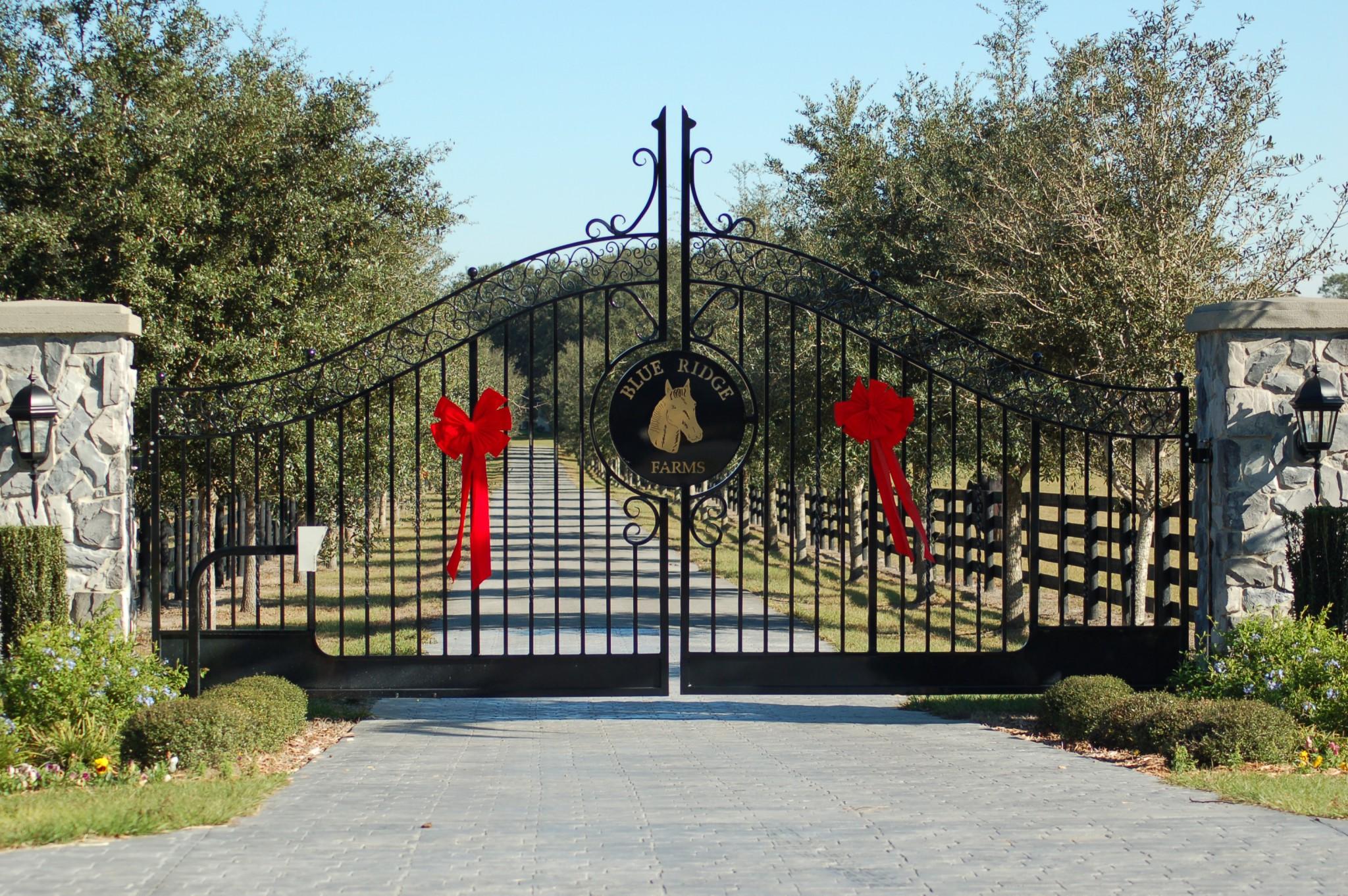 Farm Gates Entrance Metal