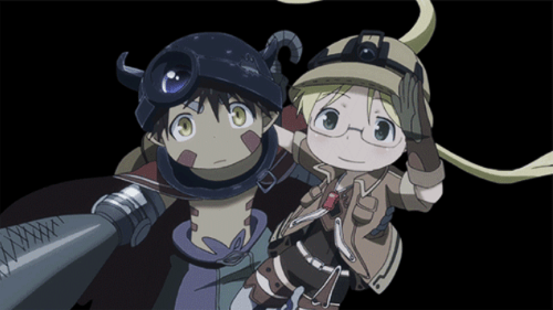 Riko and Reg from the anime Made in Abyss