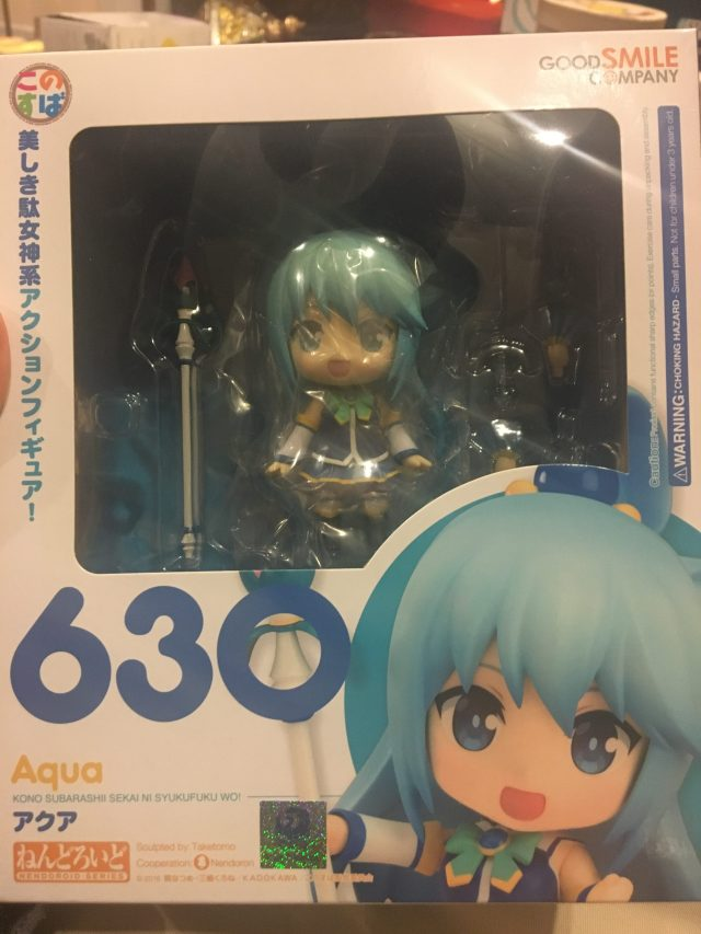 Aqua Nendoroid Packaging (front)