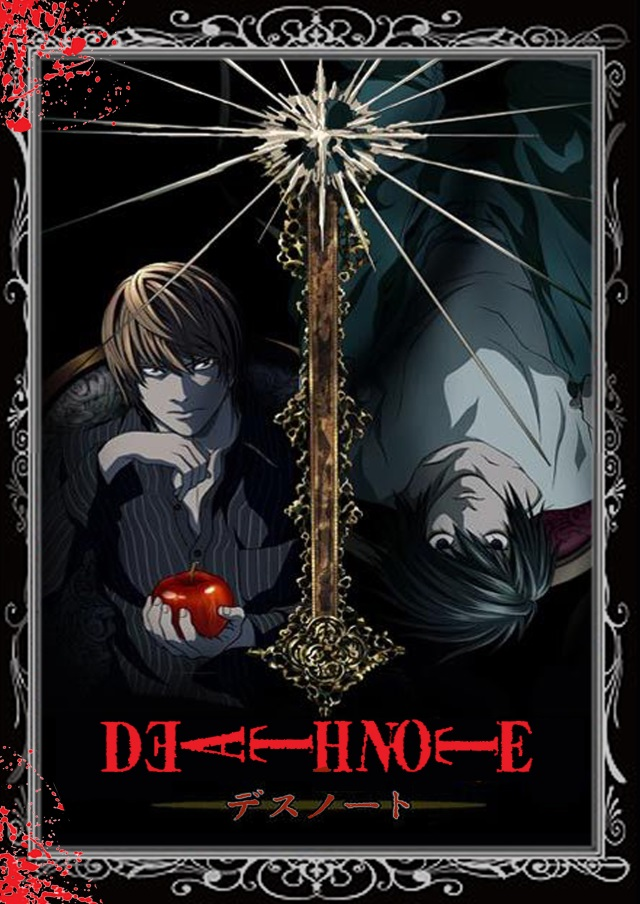 Death Note DVD Cover Art featuring Light and L