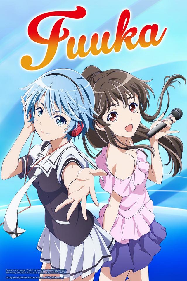 Fuuka Cover Art featuring Fuuka and Koyuki