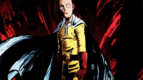 Saitama from the anime One Punch Man