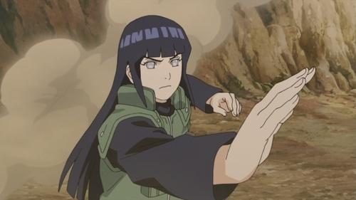 Hinata Hyuga from the anime series Naruto: Shippuden