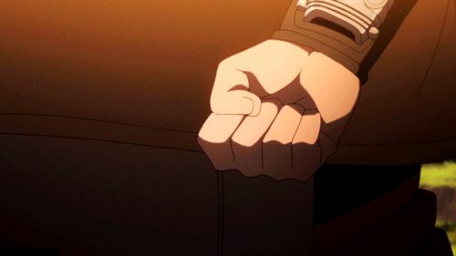 Boruto wearing the Scientific Ninja Tool (from the anime Boruto: Naruto Next Generations)