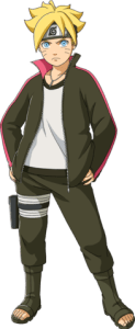 Boruto Uzumaki from the anime Boruto: Naruto Next Generations