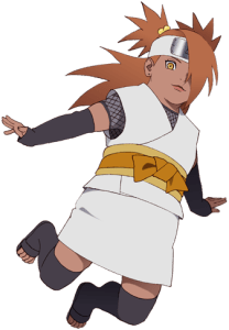 Chocho Akimichi from the anime Boruto: Naruto Next Generations