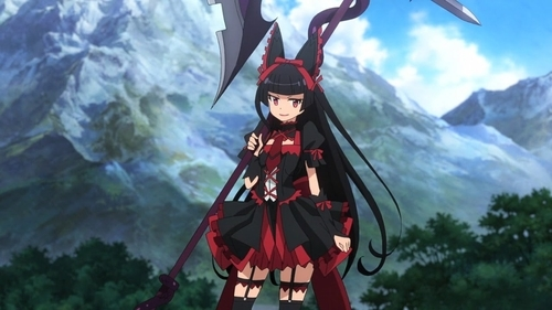 Rory Mercury from the anime GATE