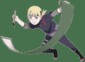 Inojin Yamanaka from the anime Boruto: Naruto Next Generations