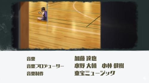 Hanebado! anime OP (opening) scene featuring Ayano Hanesaki