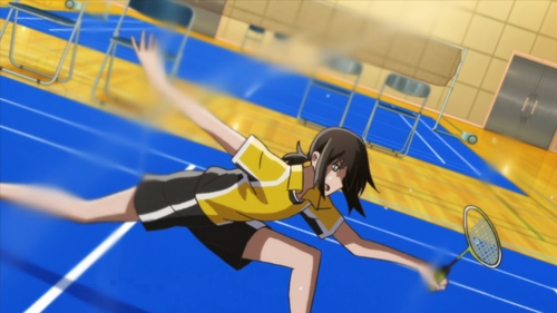 Ayano Hanesaki from the anime Hanebado!