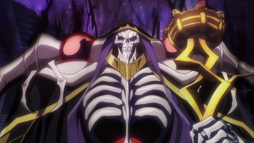 Ainz Ooal Gown from the anime Overlord