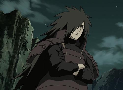 Madara Uchiha from the anime Naruto: Shippuden