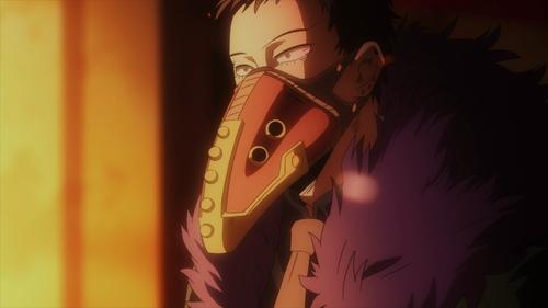 The villain Overhaul from the anime My Hero Academia