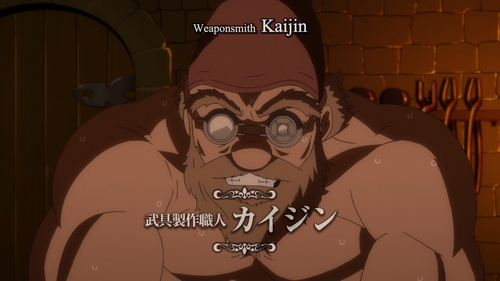 Kaijin the weaponsmith from the anime That Time I Got Reincarnated as a Slime