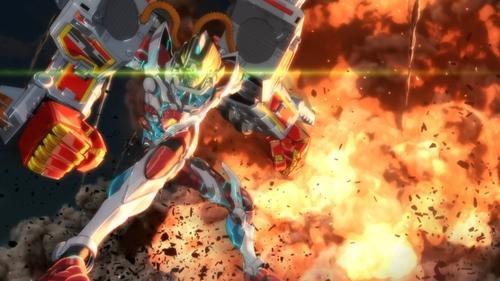 Max Gridman from the anime SSSS.Gridman