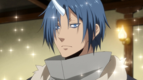 The oni Souei from the anime That Time I Got Reincarnated as a Slime