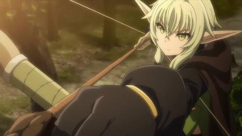 High Elf Archer from the anime series Goblin Slayer