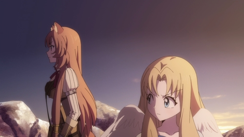 Raphtalia and Filo from the anime series The Rising of the Shield Hero