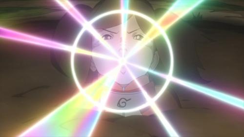 Namida using her new jutsu from the anime series Boruto: Naruto Next Generations