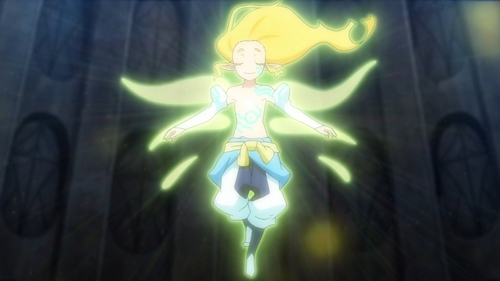 The Superior Light Spirit summoned by Kenya Misaki from the anime series That Time I Got Reincarnated as a Slime