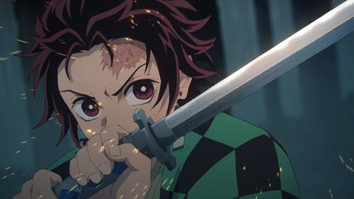 Tanjirou Kamado from the anime series Demon Slayer: Kimetsu no Yaiba