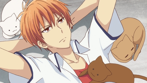 Kyo Souma from the anime series Fruits Basket