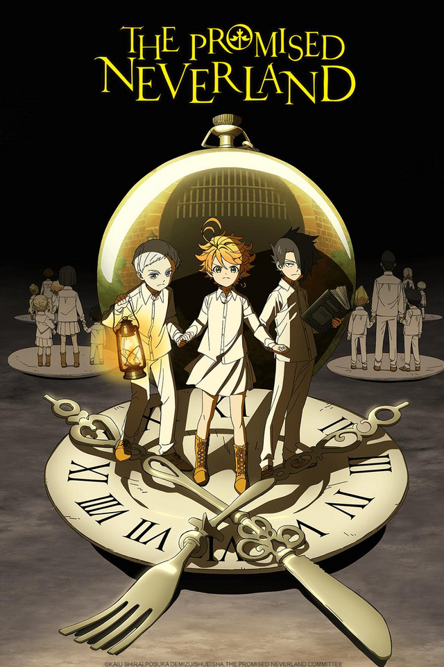 The Promised Neverland anime series cover art