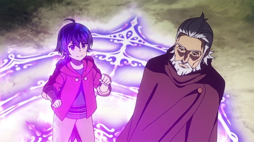 Shin and Merlin Wolford from the anime series Wise Man's Grandchild