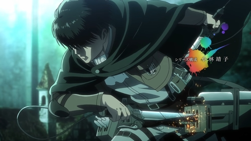 Levi Ackerman as seen in the 5th OP from the anime series Attack on Titan Season 3 Part 2