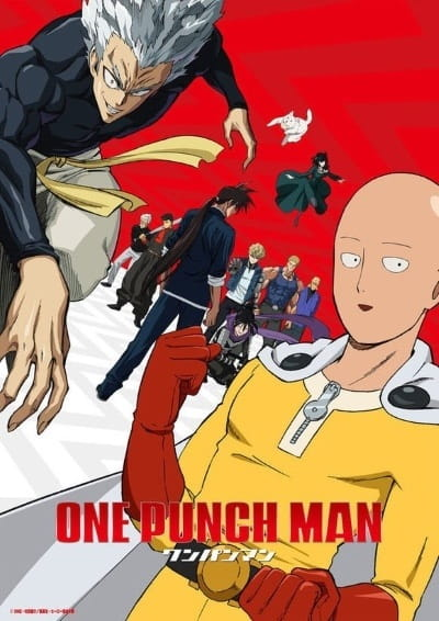 One Punch Man 2nd Season anime series cover art