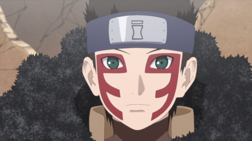 Shinki of the Sand from the anime series Boruto: Naruto Next Generations