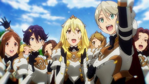 The Rose-Order of Knights from the anime series GATE 2nd Season