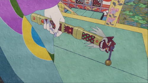 The Medicine Seller's sword of exorcism from the anime series Mononoke
