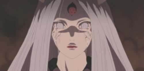 Kaguya Ōtsutsuki from the anime series Naruto: Shippūden