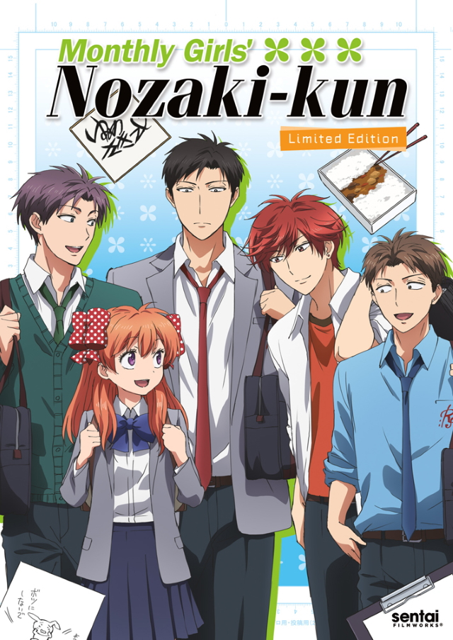 Monthly Girls' Nozaki-kun anime series cover art